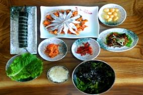 [제주 맛집] 우정회센타...꽁치 한마리가 김밥으로 변신하다