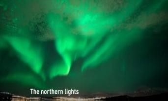 [노르웨이] 환상속으로...오로라공주를 만나다