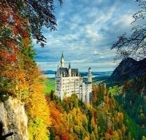 [독일] 동화 속의 성 노이 슈반 슈타인...성배의 성이 된 사연