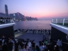 홍콩의 새로운 관광 명소...'오션 터미널 데크', 일반 공개