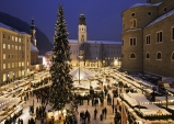잘츠부르크...로맨틱한 크리스마스 마켓에 참가하세요