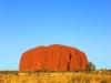 [최치선의 포토에세이] 호주...세상의 배꼽 '울룰루'에서 만든 일몰 실루엣