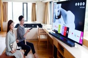 [호텔]도심 최고급 리조트서 올레드 TV 시어터룸 운영
