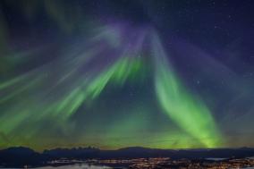 [노르웨이] 겨울의 아름다운 꽃, 황홀한 빛의 율동 '노던 라이트'