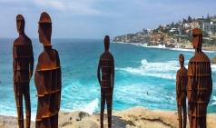 [호주] 60초 여행...시드니의 상징 '2018 본다이 해변 조각전시회'