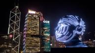 홍콩관광진흥청, 국제 라이트 아트 디스플레이 개최...'사랑과 로멘스' 주제로 작품 전시