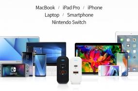 '클레버 타키온 USB-PD 퀵차지 멀티충전기 CTM-06' 출시..노트북과 스마트 기기 동시 충전