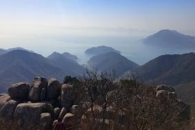 [산을 찾아서...최치선의 대한민국 화첩산행 100] 1.남해 금산
