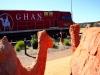 [최치선의 포토에세이] 호주 엘리스 스프링스...호주대륙을 종단하는 GHAN 열차와 낙타