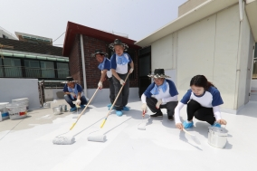 한국공항공사...'쿨쿠프 캠페인' 사회공헌 활동 진행