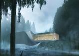 [노르웨이] 예술작품일까? 강 위의 휘어진 건축물...'더 트위스트' 9월 오픈
