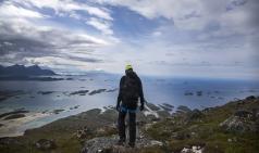 [노르웨이] 특별한 산악계단 소개...피오르드 위에 설치된 플뢰리 계단 인기