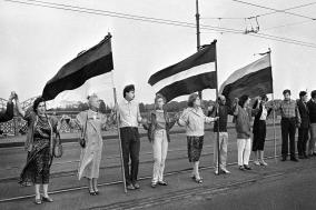[라트비아] '발트의 길 30'...손을 맞잡은 그 날, 역사가 바뀌다