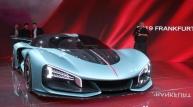 [중국]훙치 신차, 프랑크푸르트국제모터쇼 공개...전시장서 주목받아