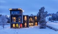 [노르웨이] 12월 내내 화이트 크리스마스 스피릿...오로라 보며 칼 요한 거리 윈터 원더랜드 쇼핑
