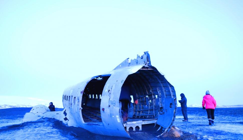 [아이슬란드] 비행기잔해...솔헤이마산두르..Solheimasandur Plane Wreck, 볼수록 슬퍼지는풍경