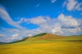 [최치선의 포토에세이] 몽골...테를지 국립공원의 초원과 하늘 그리고 산