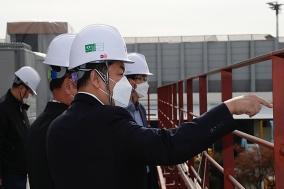 한국공항공사, 청렴옴부즈만과 김포공항 공사현장 합동 안전점검