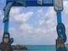 [최치선의 포토에세이] 제주...월정리 해변에서 바라본 바닷길 풍경