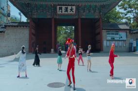 밴드 이날치 '한국판 뉴딜' 광고 등장...한국관광 홍보 영상 전 세계 2억 조회 수 기록
