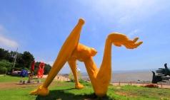 [나홀로여행] 옹진군 신시모도...초현실주의 작품 80점과 풀하우스 촬영지로 유명한 섬