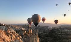 [최치선의 포토에세이] 터키...카파도키아 열기구 체험은 우주와의 조우
