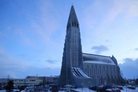 [아이슬란드] 할그림스키르캬...로켓 닮은 교회?